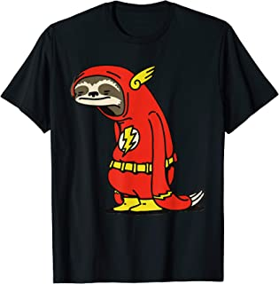 Funny flash Sloth Superhero . Perfect gift for holidays T-Shirt