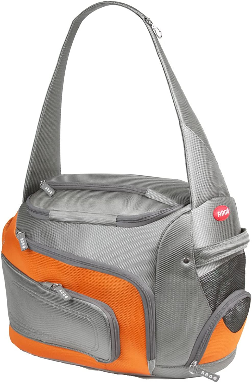 Argo By Teafco DuffO Airline Approved (20  Large) Pet Carrier  Tango orange