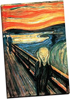 Panther Print Edward Munch The Scream Canvas Print Picture Wall Art Large 30X20 Inches