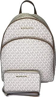 MICHAEL Michael Kors Abbey Large Backpack bundled with Michael Kors Jet Set Travel Flat Phone Wristlet/Wallet