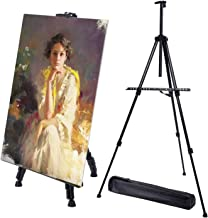 Artist Easels for Display Iron Metal, Stable Base Tripod Display Easel 21