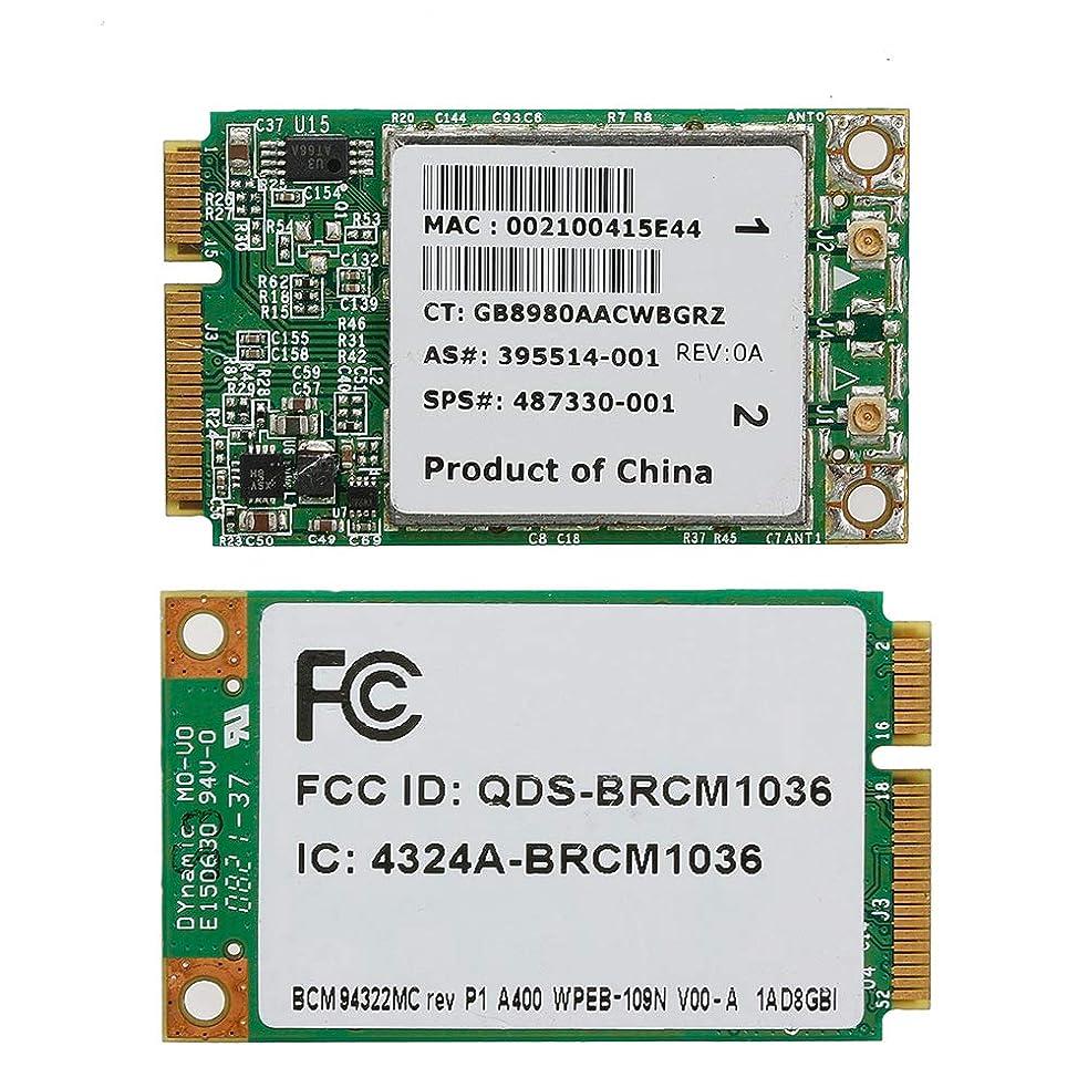 Bbbbaby HP SPS向けワイヤレスN WIFI 300M BCM94322MCデュアルバンドミニPCI-Eカード:487330-001
