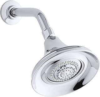 Forté Multi-Function Wall-Mount Showerhead, 2.5 Gpm, Polished Chrome