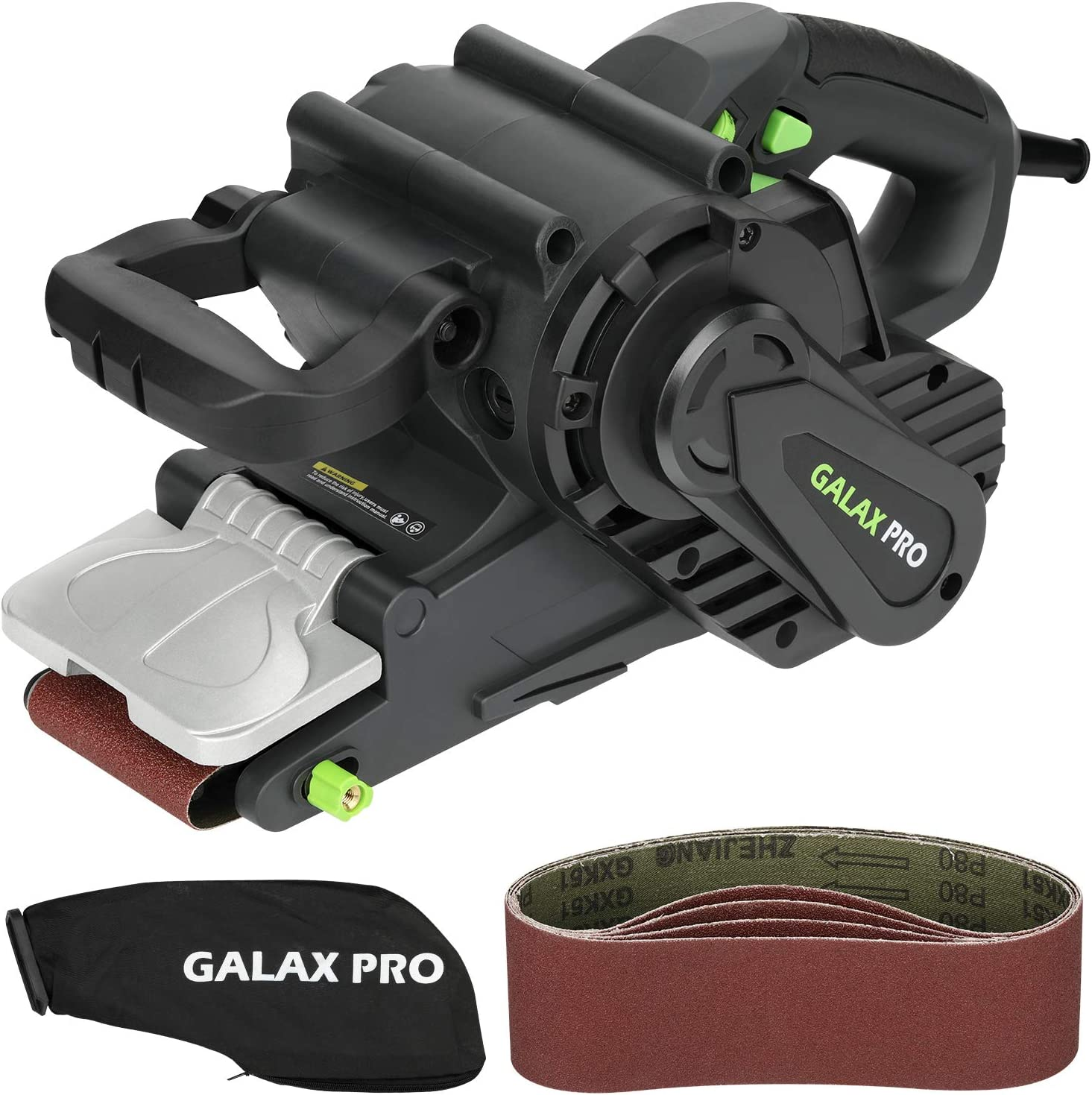 Cheap SALE Start GALAX PRO 8 Amperes Belt online shop Sander with S Variable Speed 120-380RPM