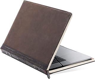 "Twelve South BookBook V2 for MacBook | Vintage Leather Book case/Sleeve with Interior Pocket for 13"" MacBook Pro w/Thunder..."