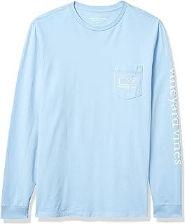 Vineyard Vines Men's Long Sleeve Modern Whale Pocket T-Shirt