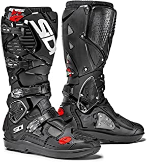 Sidi Crossfire 3 SRS Off Road Motorcycle Boots Black US10/EU44 (More Size Options)
