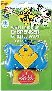 Bags on Board Dispenser Bone, Blue, 30 Bags