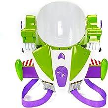 Disney- Pixar Toy Story 4 Buzz Lightyear Casco de Astronauta de Juguete para Jugar a rol con Jetpack, Luces, Frases y Sonidos auténticos, Multicolor (Mattel GDP86)