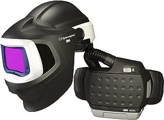 3M 37-1101-30SW Powered Air Purifying Respirator High Efficiency System with 3M Speedglas Welding Helmet 9100 MP, Lithium Ion Battery, Hard Hat, Side Windows and Auto-Darkening Filter 9100XX, Shades 5, 8-13