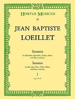 Sonates Vol.1 ( Opus 1/1-3) --- Flûte Alto/Piano