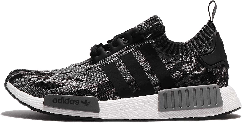 Adidas Men's NMD_R1 PK, Black Grey