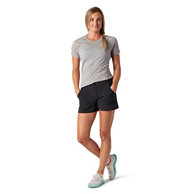 Smartwool Merino Sport Hike Shorts (Black) Women