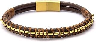Not Today Satan Morse Code Leather Bracelets for Men...