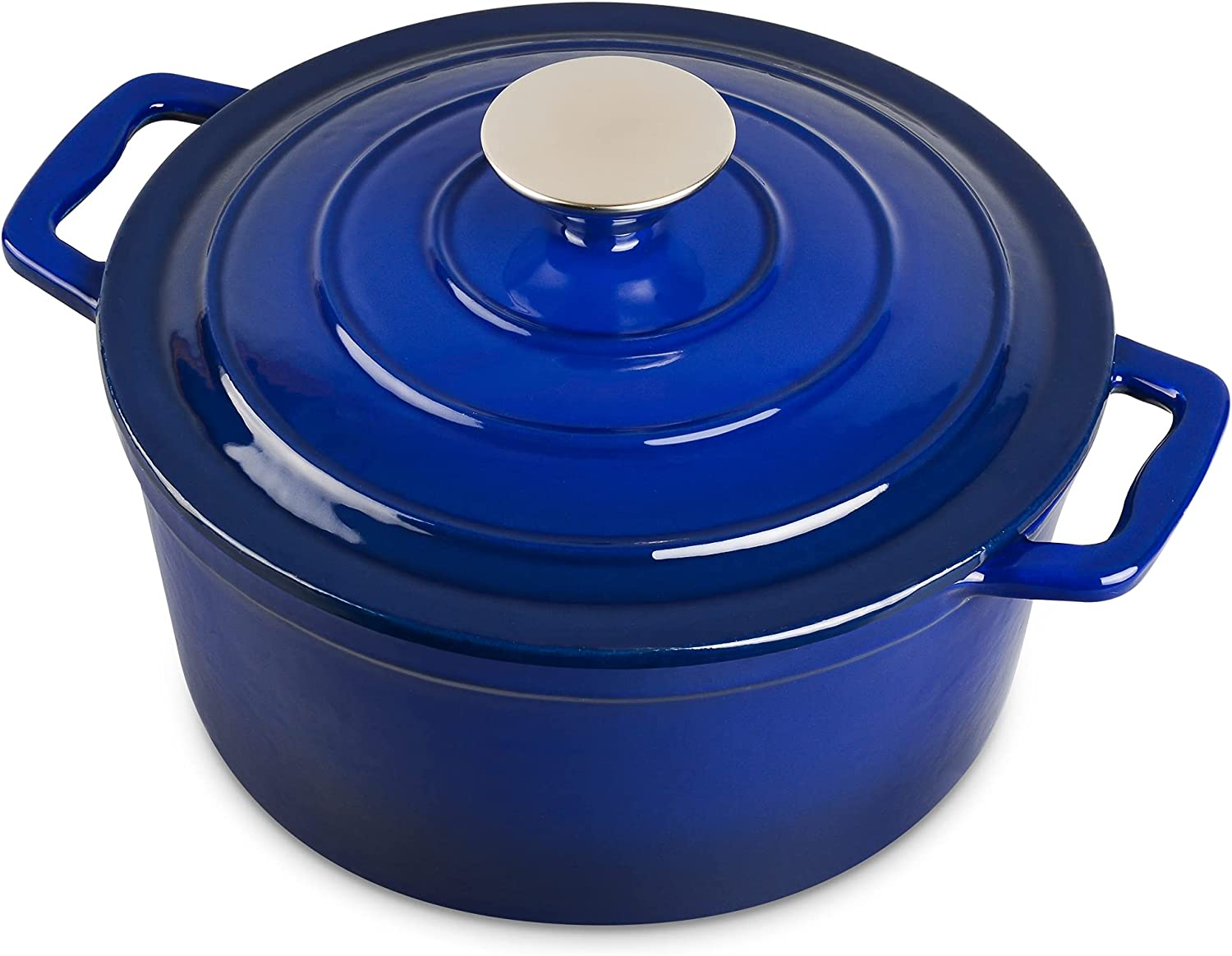 3 Quart Non-Stick Enamel Cast Iron Suit Dutch Oven Lid New Orleans Mall Pot Chicago Mall with
