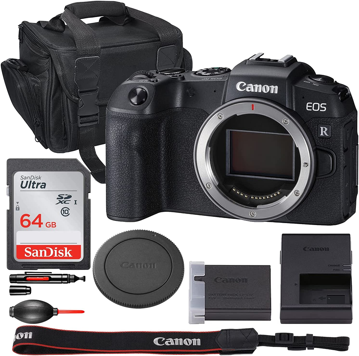 Canon EOS RP Mirrorless Digital Camera 3380 Body Only National Limited price products - Bundle