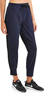 Avia Activewear Women's Side Tape Crop Jogger