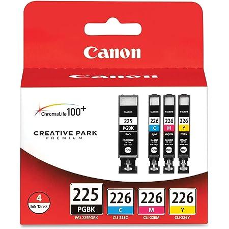 Canon PGI225/CLI226 Color Multi Pack Compatible to iP4820, MG5220, MG5120, MG6120, MG8120, MX882, iX6520, iP4920, MG5320, MG6220, MG8220, MX892
