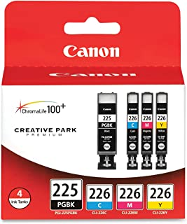 Canon PGI225/CLI226 Color Multi Pack Compatible to iP4820, MG5220, MG5120, MG6120, MG8120, MX882, iX6520, iP4920, MG5320, ...