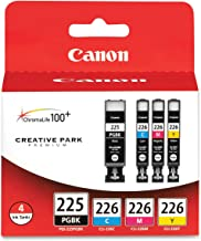 Canon PGI225/CLI226 Color Multi Pack Compatible to iP4820, MG5220, MG5120, MG6120, MG8120, MX882, iX6520, iP4920, MG5320, ...