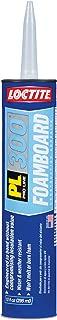 Loctite PL 300 Foamboard VOC Latex Construction Adhesive 10-Ounce Cartridge (1421941)