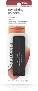 Neutrogena Revitalizing and Moisturizing Tinted Lip Balm with Sun Protective Broad..