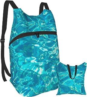 Mochila ligera para piscina de agua, plegable, para senderismo, impermeable, para hombres y mujeres