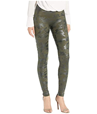 Spanx Faux Leather Camo Leggings Women