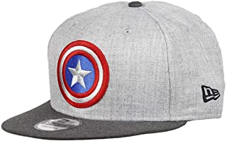 93874cb9ef222 New Era 9FIFTY Marvel Captain America Super-Héros Logo 950 Casquette