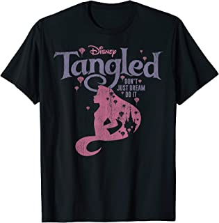 Disney Tangled Silhouette Don't Just Dream Graphic T-Shirt