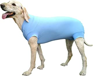 VetMedWear Suit, Protective Wear Recovery Suit for Wound and Bandage Protection. After Dog Surgery, Hot Spots, and Skin Di...