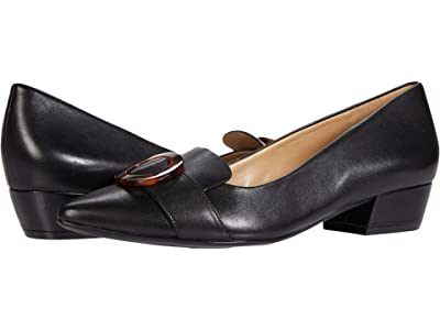 Naturalizer Barton (Black Leather) Women