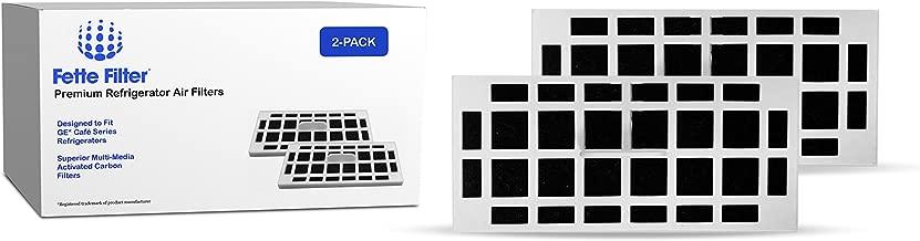 Fette Filter - Refrigerator ODOR FILTER Compatible with GE Cafe Series (2-Pack)