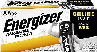 Energizer Alkaline Power AA 32 Pack Batteries