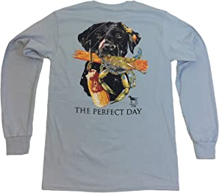 The Perfect Day Cute Dog Long Sleeve Tee