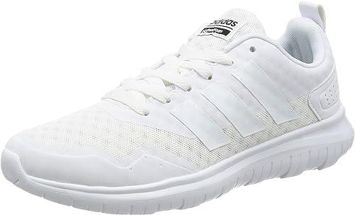 Adidas Cloudfoam Lite Flex Aw4200, Hauszapatos para mujer, blanco (blanco, 36 2 3 EU