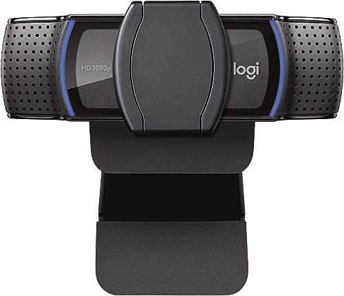Webcam Full HD Logitech C920s com Microfone e Proteção de Privacidade para Gravações em 1080p Widescreen, Compatível ...