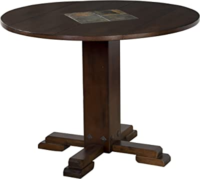 Sunny Designs Santa Fe Drop Leaf Table with Slates