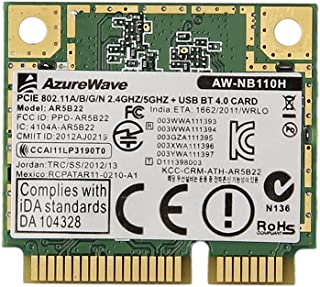Generic for Atheros Ar5b22 300m Wireless N Bluetooth Bt 4.0 Combo Minicard Better 6235 6230