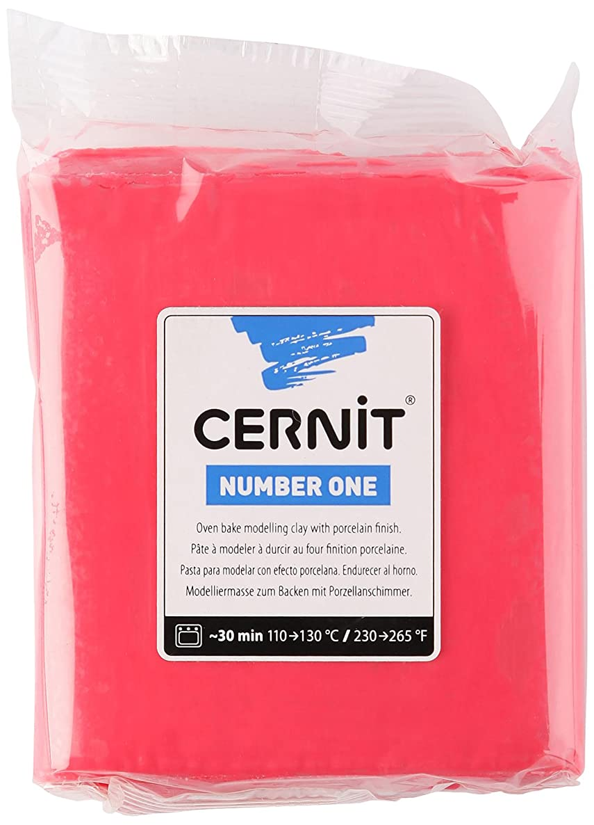 Cernit 250 g No.1 Clay, Red