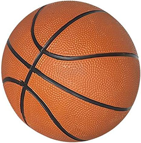Amazon.com : Hathaway 7-Inch Mini Basketball, Orange : Electronic Basketball Games : Sports & Outdoors