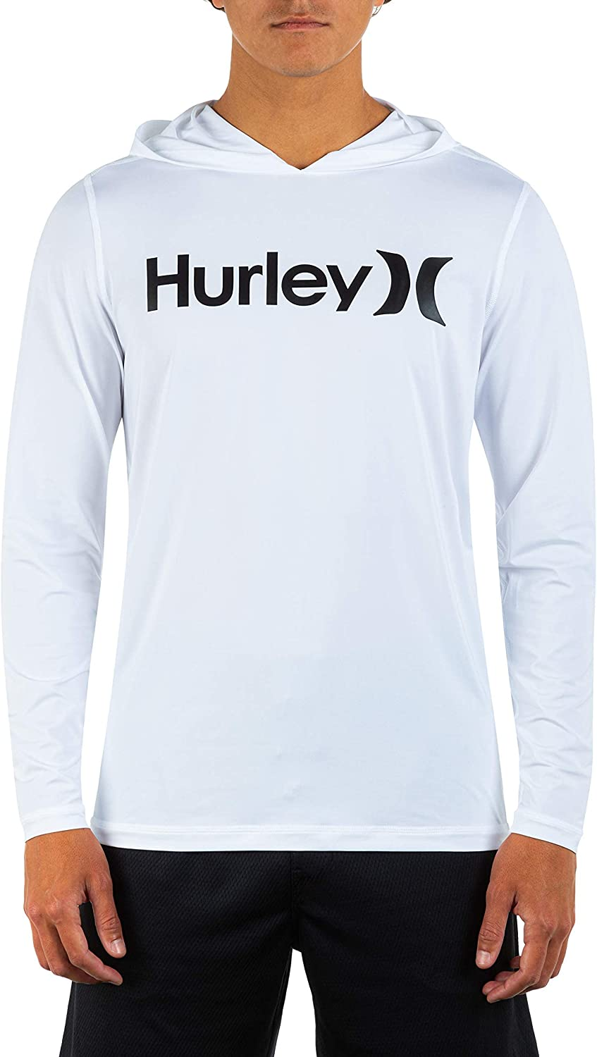 Hurley Men's One and Only Hybrid Long Sleeve Hoodie
