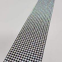 TRUE LINE Automotive Car Diamond Sill Door Bumper Bling Trim Universal Strips 2PC
