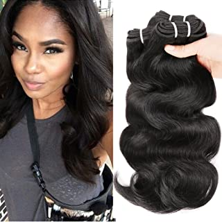 HANNE 300G Brazilian Virgin Hair Body Wave Curly Hair Virgin Brazilian Hair Weaves Human Hair Extensions (10