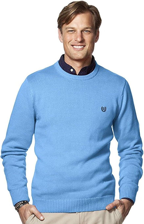 Chaps Men's Big & Tall Classic-Fit Crewneck Sweater