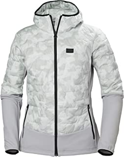 Helly Hansen Women's LIFALOFT Hybrid Insulator Jacket, 853 Grey Fog Camo, Small
