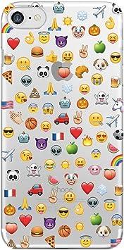 Coque Emoji [Emoticon] [Emoticones] pour iPhone & Samsung (Huawei P8 Lite (version 2016))