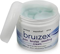 BRUIZEX Pain, Bruise and Swelling Cream, 3 oz. | Bruise Removal Cream with Soothing Arnica Gel and Cooling Menthol | Relief for Skin Bruises, Swelling After Trauma, and Back, Knee, Neck, Joint Pain