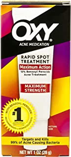 Oxy Acne Medication Maximum Action Spot Treatment 0.65 Ounces (Pack of 3)
