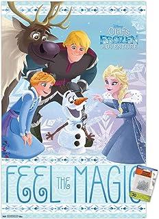 Disney Pixar Frozen: Olaf's Frozen Adventure - Elsa Wall Poster with Push Pins